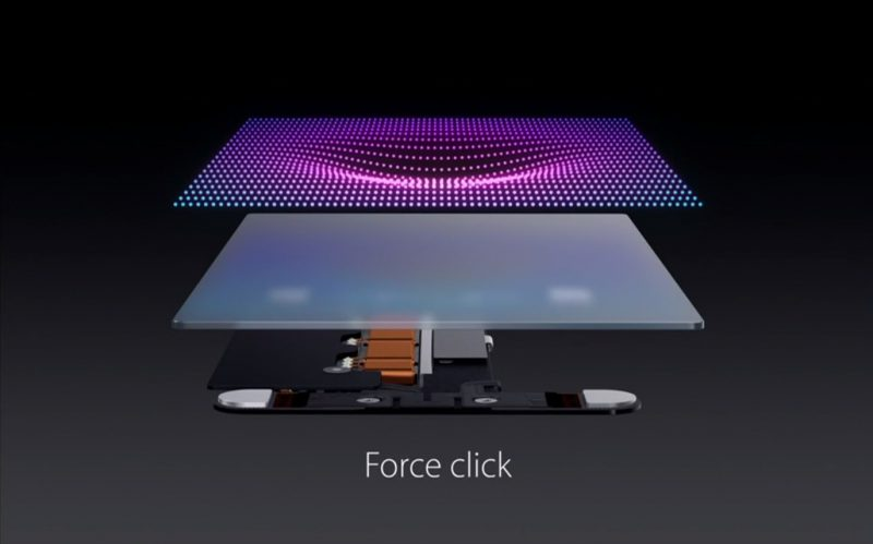 Apple'dan Force Touch Teknolojisi